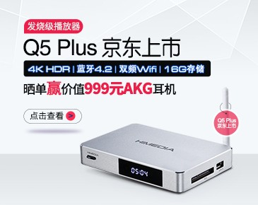 2+16G、双频带蓝牙的Q5 Plus京东上市啦!